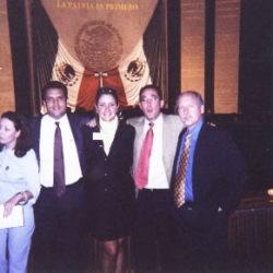 Becarios y Gerardo Le Chevallier