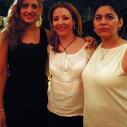 Lourdes Cota, Marcela Jimenez y Maricarmen Soria