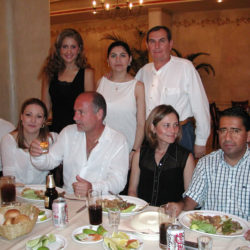 Lourdes Cota, Maricarmen Soria, Marcela Jimenez y Gerardo Le Chevallier