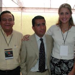 Lourdes Cota y Jorge Franco