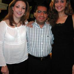 Marcela Jimenez, Jorge Franco y Lourdes Cota