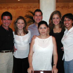 Marcela Jimenez, Luis Beccar, Maricarmen Soria y Lourdes Cota
