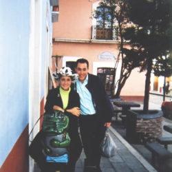 Memo Arocha y Lourdes Cota