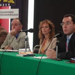 Omar Villalba, Luis Nunes, Adriana Arbelaez y Memo Arocha